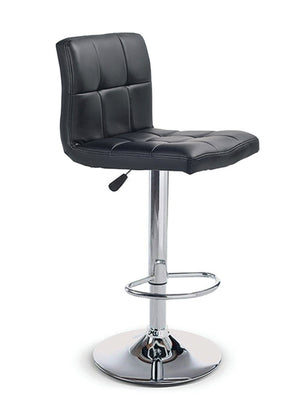 Adjustable Height Barstool Black Vinyl  ST-139B