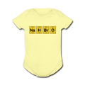 "UNPUBLISHED - Spreadshirt Article not found | ""NaH BrO"" - Baby Short Sleeve One Piece - One Piece - ScienceT-Shirts"