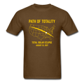"""Path of Totality"" - Men's T-Shirt"