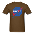 "UNPUBLISHED - Spreadshirt Article not found | ""NASA Pizza"" - Men's T-Shirt - T-Shirt - ScienceT-Shirts"