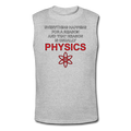 "Gray ""Physics"" Men's Muscle T-Shirt"