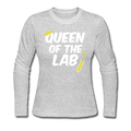 """Queen of the Lab"" - Women's Long Sleeve T-Shirt"