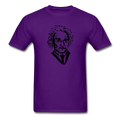 """Einstein"" - Men's T-Shirt - T-Shirt - ScienceT-Shirts"