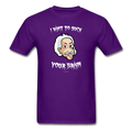 """Einstein The Vampire"" - Men's T-Shirt - T-Shirt - ScienceT-Shirts"