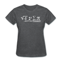 """I Ate Pi"" (white) - Women's T-Shirt - T-Shirt - ScienceT-Shirts"