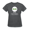 """Biology Division"" - Women's T-Shirt - T-Shirt - ScienceT-Shirts"