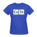 """CuTe"" - Women's T-Shirt - T-Shirt - ScienceT-Shirts"