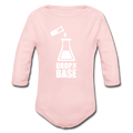 """Drop the Base"" - Baby Long Sleeve One Piece - One Piece - ScienceT-Shirts"