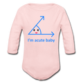 """Acute Baby"" - Baby Long Sleeve One Piece - One Piece - ScienceT-Shirts"