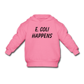 """E. Coli Happens"" (black) - Toddler Hoodie - Hoodie - ScienceT-Shirts"