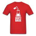 """Drop the Base"" - Men's T-Shirt - T-Shirt - ScienceT-Shirts"