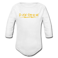"""Bazinga"" - Baby Long Sleeve One Piece - One Piece - ScienceT-Shirts"