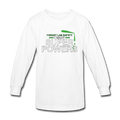 White Forget Lab Safety I Want Super Powers Kids' Long Sleeve T-Shirt