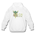 White Yoda One For Me Star Wars Men's  Pop Culture Big & Tall Hoodie