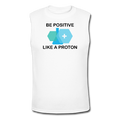 """Be Positive"" (black) - Men's Muscle T-Shirt"