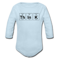 Blue ThInK Baby Long Sleeve Periodic Table One Piece