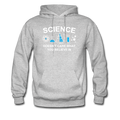 Gray Science Doesn't Care Men's Hoodie