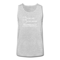 "UNPUBLISHED - Spreadshirt Article not found | UNPUBLISHED - Spreadshirt Article not found | ""Technically the Glass is Full"" - Kids' Tank Top - Tank - ScienceT-Shirts"