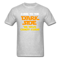 """Come To The Dark Side We Have Candy Corn"" - Men's T-Shirt - T-Shirt - ScienceT-Shirts"