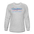 """Giant Meteor 2016"" - Men's Long Sleeve T-Shirt - T-Shirt - ScienceT-Shirts"