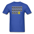 Blue BatMan Periodic Table Men's Science T-Shirt