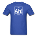 """Ah! The Element of Surprise"" - Men's T-Shirt - T-Shirt - ScienceT-Shirts"