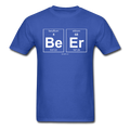 Blue BeEr Periodic Table Science Men's T-Shirt
