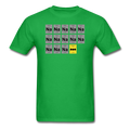 Green BatMan Periodic Table Men's Science T-Shirt