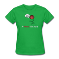 """A-Mean-Oh Acid"" - Women's T-Shirt - T-Shirt - ScienceT-Shirts"