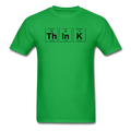 Green Think Periodic Table Science Men's T-Shirt