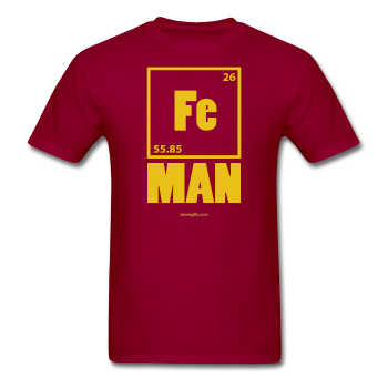 """Iron Man"" - Men's T-Shirt - T-Shirt - ScienceT-Shirts"