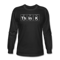"""ThInK"" (white) - Men's Long Sleeve T-Shirt"