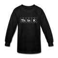 black ThInK Periodic Table Kids' Long Sleeve T-Shirt