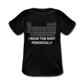 Black I Wear This Shirt Preiodically Baby Lap Shoulder T-Shirt