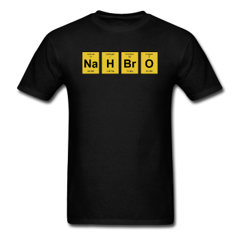 "UNPUBLISHED - Spreadshirt Article not found | ""NaH BrO"" - Men's T-Shirt - T-Shirt - ScienceT-Shirts"