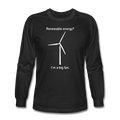 """I'm a Big Fan"" - Men's Long Sleeve T-Shirt - T-Shirt - ScienceT-Shirts"