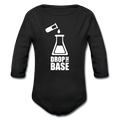 """Drop the Base"" - Baby Long Sleeve One Piece"