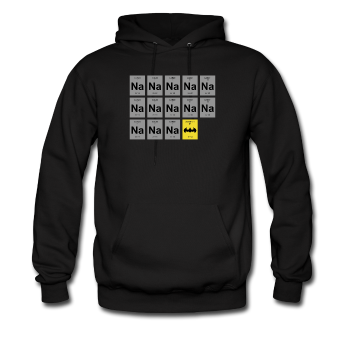 "UNPUBLISHED - Spreadshirt Article not found | ""Na Na Na Batman"" - Men's Hoodie - Hoodie - ScienceT-Shirts"