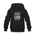 """Life is too Short"" (white) - Kids' Hoodie - Hoodie - ScienceT-Shirts"