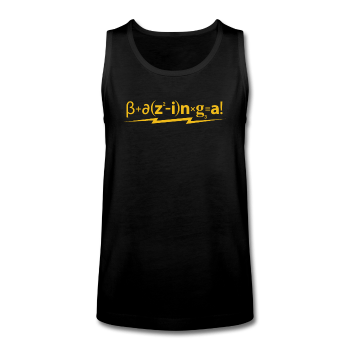 """Bazinga"" - Kids' Tank Top - Tank - ScienceT-Shirts"
