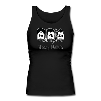 """Heavy Metals"" - Women's Longer Length Fitted Tank"