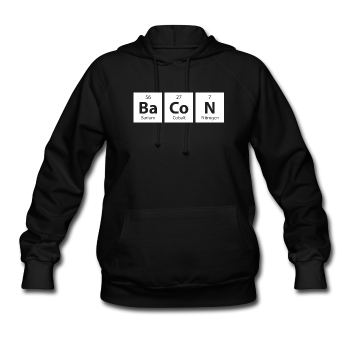 """BaCoN"" - Women's Hoodie - Hoodie - ScienceT-Shirts"