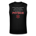 "Black ""Physics"" Men's Muscle T-Shirt"