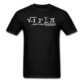 """I Ate Pi"" (white) - Men's T-Shirt - T-Shirt - ScienceT-Shirts"