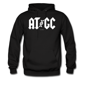 """AT/GC"" - Men's Hoodie - Hoodie - ScienceT-Shirts"