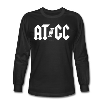 """AT/GC"" - Men's Long Sleeve T-Shirt - Long Sleeve Shirt - ScienceT-Shirts"