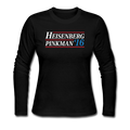 """Heisenberg/Pinkman 2016"" - Women's Long Sleeve T-Shirt - Long Sleeve Shirt - ScienceT-Shirts"