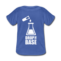 Blue Drop The Base Baby Lap Shoulder T-Shirt