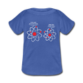 """I've Lost an Electron"" - Baby Lap Shoulder T-Shirt - T-Shirt - ScienceT-Shirts"