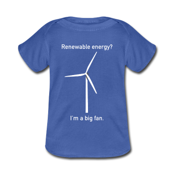 """I'm a Big Fan"" - Baby Lap Shoulder T-Shirt - T-Shirt - ScienceT-Shirts"
